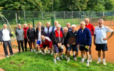 Freundschaftsspiel Herren 70 und dem Tennisclub PTB e.V.